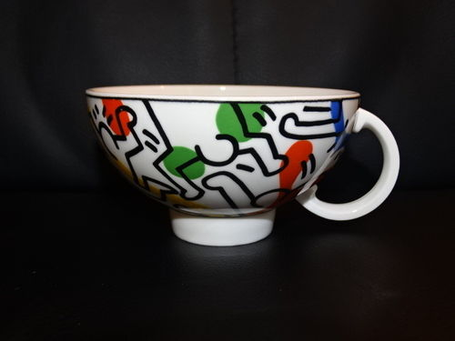 Villeroy & Boch Keith Haring Spirit of Art: Teetasse / Tasse ohne Unterteller
