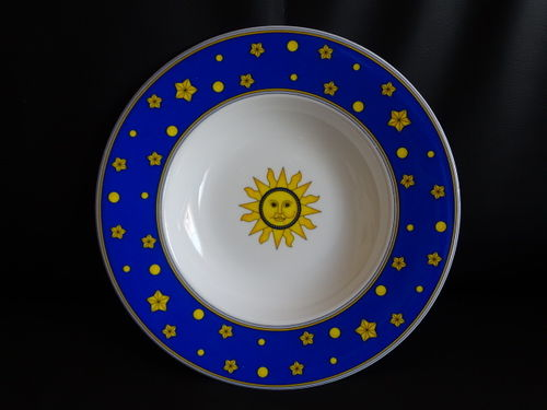 Villeroy & Boch Sun, Moon and Stars: Suppenteller / tiefer Teller (blau)