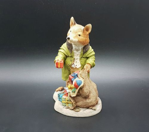 Villeroy & Boch Foxwood Tales Figur Winter at Foxwood: Squire Fox A Little Surprise