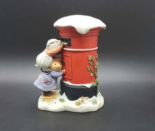 Villeroy & Boch Foxwood Tales Figur Winter at Foxwood: Jeremy  Willy Letter to Santa