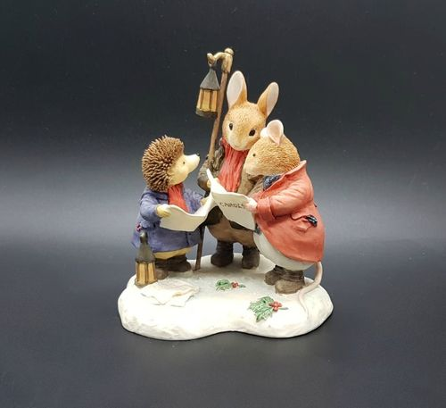 Villeroy & Boch Foxwood Tales Figur Winter at Foxwood: Carol Singers Heavenly Voices