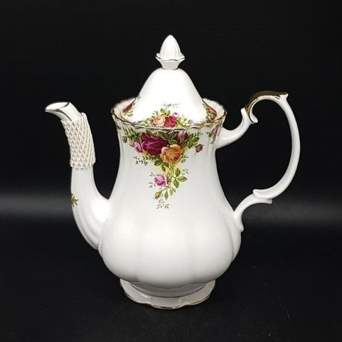 Royal Albert Old Country Roses: Kaffeekanne / Kanne